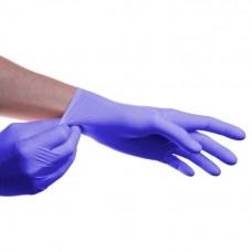 Медицинские перчатки нитриловые смотровые нестерильные SFM